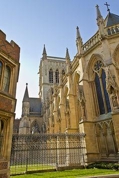 Where I studied Medieval Paleography  St John's College Cambridge