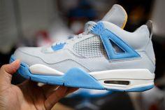 "Air Jordan 4 ""Mist Blue"""