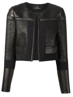 Shop J. Mendel leather panel jacket in Tootsies from the world's best independent boutiques at farfetch.com. Over 1000 designers from 300 boutiques in one website.