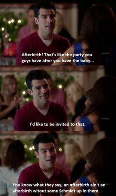 Oh Schmidt. New Girl