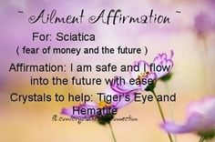 Ailment Affirmation: Sciatica