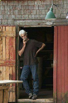 """I don't want to be known as a sex symbol. There's a great stigma that goes with that tag. I want to be a Sam Elliott. [quoted in the December 1976 issue of """"Playgirl""""] ♥good gosh~whadda man! Sam Elliott Pictures, Dm Foto, Katherine Ross, Love Sam, Tom Selleck, Thing 1, Dream Guy, The Ranch, Good Looking Men"""