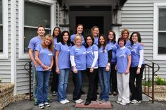 Our Spectacular Team is getting ready for a 1st Kiss Cancer Good-Bye Walk at the Heckscher Park in Huntington, NY