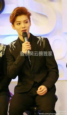 [OFFICIAL] 140516 TOP Chinese Music Interview 音乐风云榜 Weibo Update