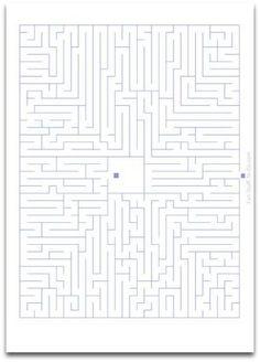 Free Printable Easy Mazes