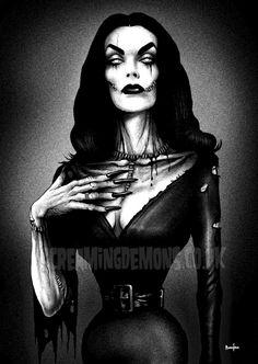 Undead Vampira by ScreamingDemons.deviantart.com on @deviantART