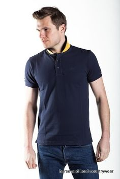 Townend Brucester Polo Shirt A stylish polo shirt with contrast collar placket Subtle Townend embroidery ideal for every occasion.