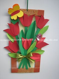 People who like this Art N Craft, Craft Stick Crafts, Craft Work, Diy And Crafts, Crafts For Kids, Paper Crafts, Diy Paper, Paper Birds, Paper Flowers