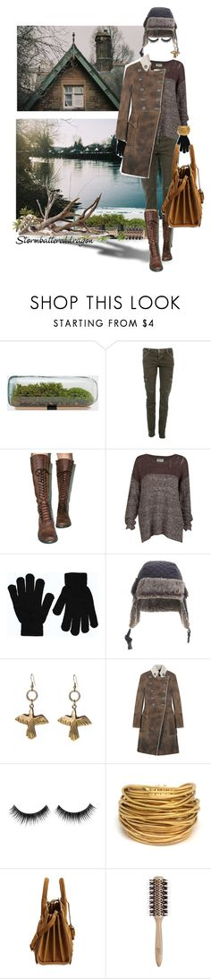 """Shy Girl Walking Winter's Sad Cold Shores"" by stormbattereddragon ❤ liked on Polyvore featuring CARGO, ROC Boots, RVCA, Boohoo, Timberland, Alkemie, Balmain, Black & Sigi, Yves Saint Laurent and Philip Kingsley"