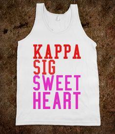 Kappa Sig Sweetheart Tank