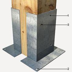 como fixar madeira no concreto - Pesquisa Google