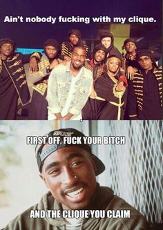 Apologise that, Pac i fucked your bitch with you