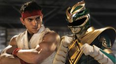 GREEN RANGER vs RYU - Super Power Beat Down  (Episode 15) @4minute mark the actual battle with the real Green Ranger starts @lmrb19