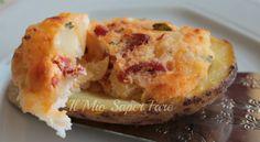 Patate ripiene al forno ricetta con ricotta