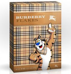 Burberry flakes #package