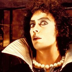 TIM CURRY, Happy Birthday — Born Timothy James Curry on April 19, 1946 in Grappenhall, Cheshire, England, UK.  Credits include: The Rocky Horror Picture Show (1975), The Hunt for Red October (1990), Legend (1985), It (1990). SteveOs Film Fun Fumblog: http://filmfun.tumblr.com