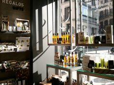 La chinata. Productos realizados con aceites. Madrid, calle mayor, 44