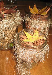 Fall Craft with Mason Jars