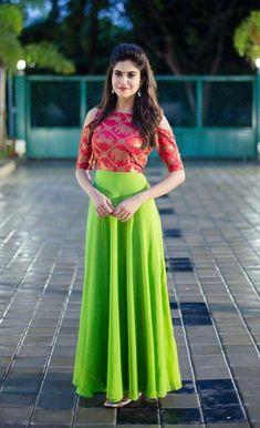 Long Gown Dress, Frock Dress, Anarkali Dress, Lehenga Gown, Long Gowns, Lehenga Blouse, Sari Blouse Designs, Lehenga Designs, Indian Designer Outfits