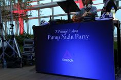 Reebok ZPump Fusion Pump Night Party