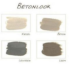 beton palette - Beton Color