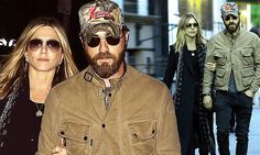 Jennifer Aniston looks glamorous in head to toe black ensemble