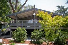 Dwell on Design Exclusive House Tour: Canon Residence - Design Milk -- Originally built in 1959 by Buff, Straub & Hensmen
