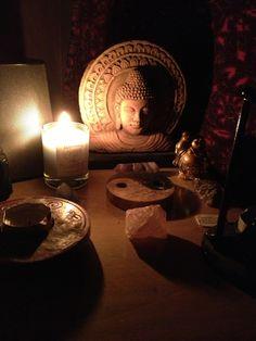 Rituals ~ Buddhas & candles  ♥♥♥
