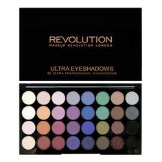 Makeup Revolution 32 Eye Palette Mermaids Forever