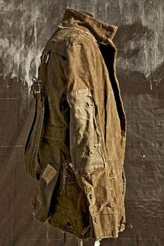 Greg Lauren design.  Military surplus upcycled!  Love it!