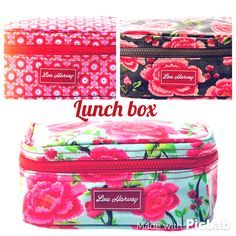 Insulated Lunch Box, Lunch Boxes, Good Food, Patterns, Bags, Block Prints, Handbags, Healthy Food, Pattern