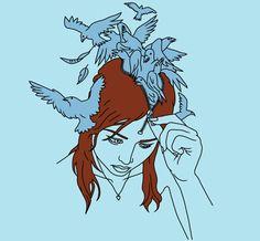 Bluebird Migraine by Simon Noynay