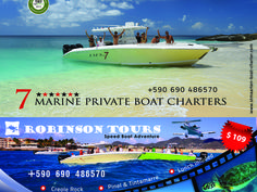 Robinson's Speed Boat Tours, Excursions