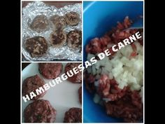 DIETA LIPOFIDICA: HAMBURGUESAS AL HORNO - YouTube Carne, Muffin, Breakfast, Youtube, Food, Salads, Diets, Morning Coffee, Eten
