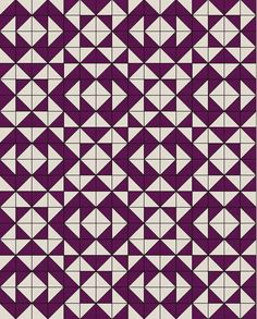 Channel the popular decor of the American Southwest with this stunning Aztec Charm Pack Pattern. This free quilt pattern also comes with a step-by-step tutorial for how to arrange your half square triangles, so that you don& have to do any guesswork Charm Pack Quilt Patterns, Charm Pack Quilts, Jelly Roll Quilt Patterns, Charm Quilt, Quilt Block Patterns, Quilt Blocks, Quilting Projects, Quilting Designs, Southwestern Quilts