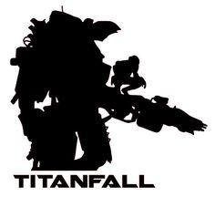Titanfall Mech XBOX ONE Vinyl Sticker