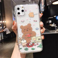 KAWAII CARTOON BEAR CUTE PASTEL PHONE CASE - For 7Plus or 8Plus / style7