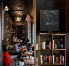 best coffee shops try Birch Coffee in flatiron...has cute library