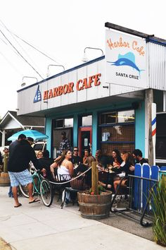 Harbor Cafe In Santa Cruz Is Your Place To Have Some Delicious Brunch And Fresh Marys
