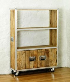Roadie Chic Large Bookcase (with doors)