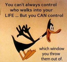 FUNNY QUOT with daffy duck