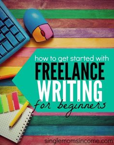 Want to start making some money as a freelance writer? While it can take some patience to break into paid writing it's definitely worth it! Here's a step by step guide on how to get freelance writing jobs for beginners. http://singlemomsincome.com/freelance-writing-jobs-for-beginners/ freelance writing, how to freelance write #freelancer #freelance #writer