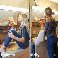 Social Media vs Reality Photos that reveals all Truth.