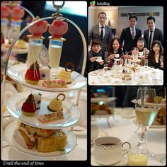 High tea at Langham #tea #afternoontea #thelangham #langhamhotel #champange by philipau425