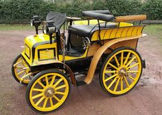 1898 Fisson 8HP 3-Litre Tonneau.  Louis Fisson founded his car company in Paris in 1896. While only in business for a few years, he managed to build an unknown number of cars before he gave up the venture in 1898. There were two types available – a rear-engined and a front-engined model. This is of the front-engined variety and it is the only one like it that survives. It uses a 3.0-liter straight-two (the cylinders are giant) making eight horsepower.