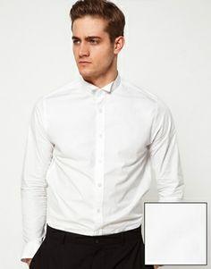 Camisa cuello pajarita