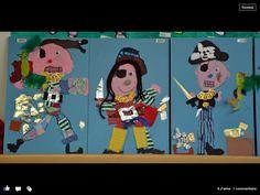 * Verschillende piraten...