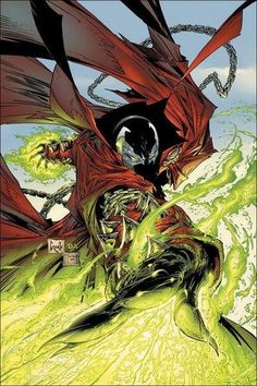 Spawn by Greg Capullo and Todd McFarlane.