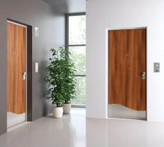 Porta blindata con Linea pannelli Concept