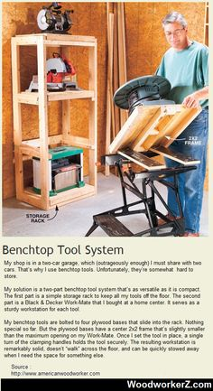 Benchtop Tool System